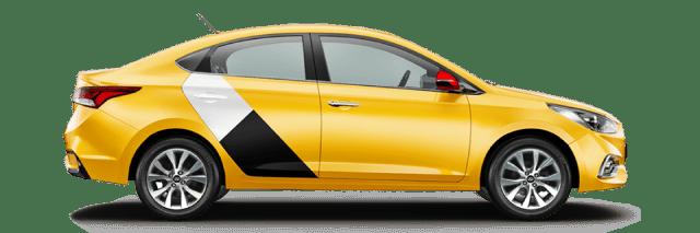 Яндекс такси в городе Архангельске