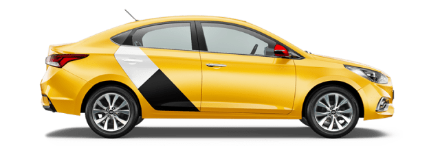 Яндекс такси в городе Кропоткин