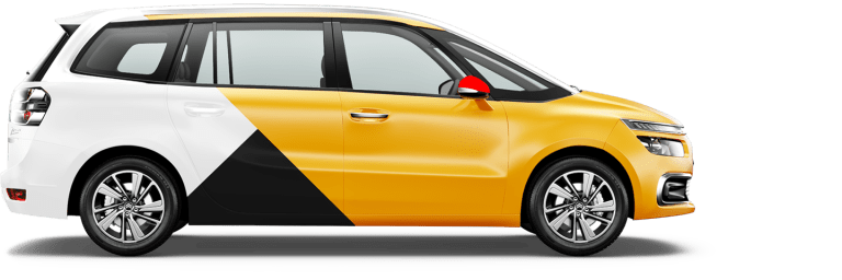 Минвэн Яндекс такси