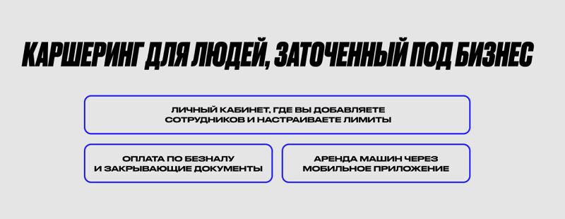 Яндекс Драйв для бизнеса